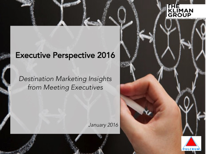 2016 meeting executive survey